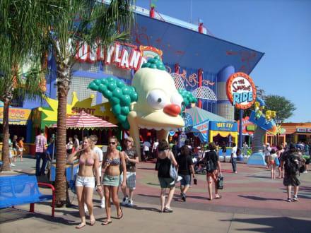Vieles für die Kinder - Universal Studios Florida
