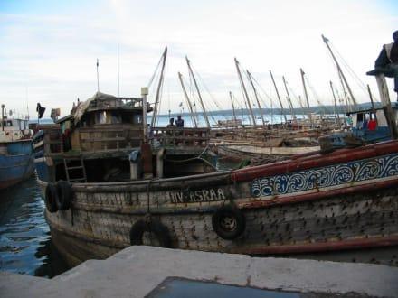 Dhauhafen von Sansibar-Stadt - Hafen Stone Town