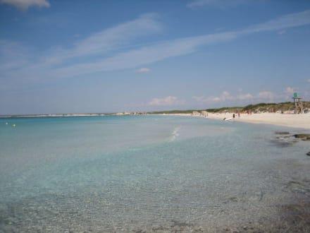 So frei und das auf Mallorca - Platja Es Trenc