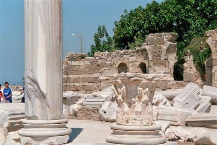Tempelsteinteile - Apollon Tempel