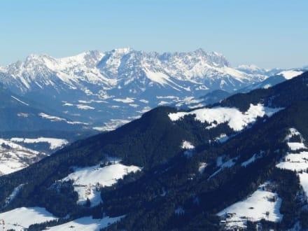 Blick vom Schatzberg - Skigebiet Schatzberg