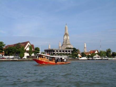Blick auf Wat Arun - Wat Arun