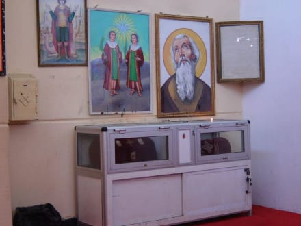 Koptische Kirche - Koptische Kirche St. Schinuda Vater der Eremiten