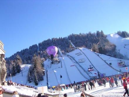 Skispringen - Olympiaschanze