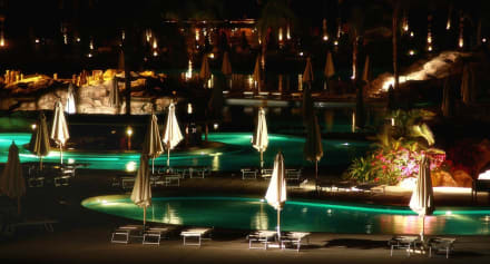 Pools at Night -