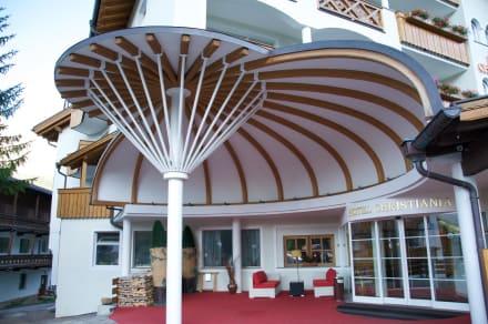 Der Eintritt zum Hotel - Hotel Christiania