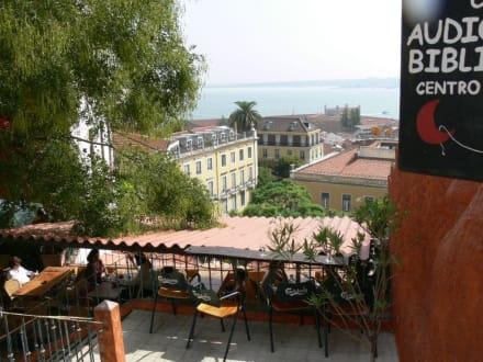 Ausblick vom Eingang - Tapas Bar Resto