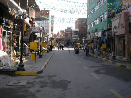 Basar - Zentrum Hurghada