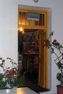 Ja, es ist ein Cafe! - Kafenion Roupel
