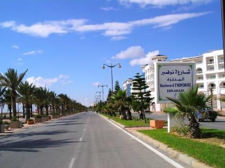 Promenade von Hammamet Yasmine - Strand Hammamet