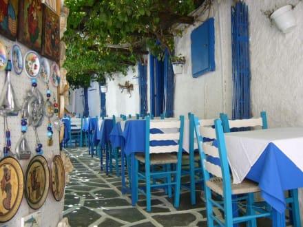 Typisches Griechenland - Altstadt Naxos Stadt