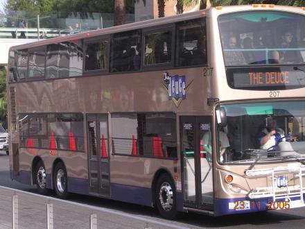 Deuce - The Deuce - der Las Vegas Bus