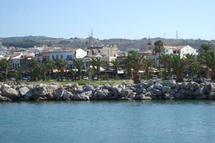 Blick auf Rethymno - Rethymnos
