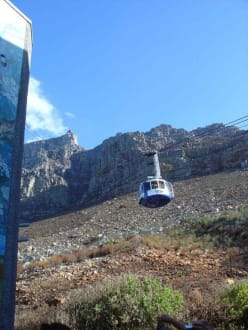 Die Gondel hinauf zum Tafelberg - Tafelberg
