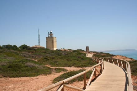 Weg zum Faro de Conil - Leuchtturm von Conil