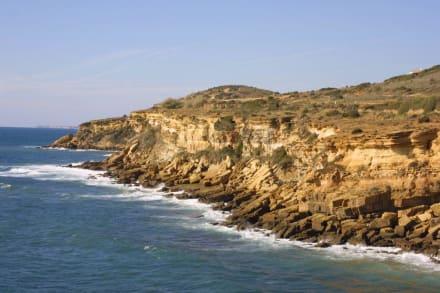 Wanderung zwischen Luz und Burgau - Küste Lagos