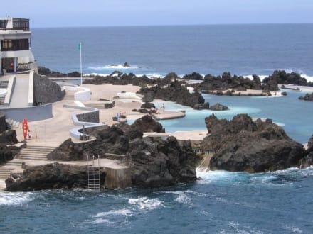 Porto Moniz - Meeresschwimmbecken - Meerwasserschwimmbecken