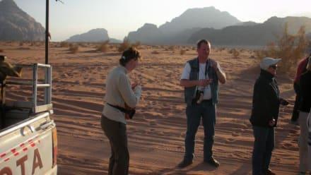 Im Wadi Rum - Jeep Safari Wadi Rum