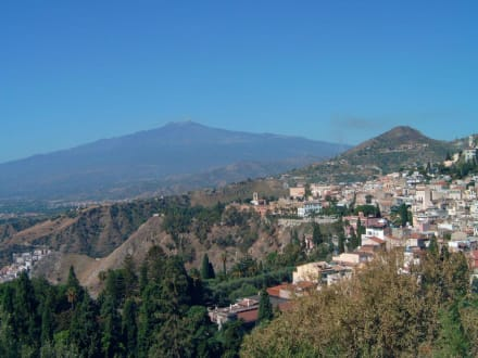 Taormina / Ätna - Vulkan Ätna