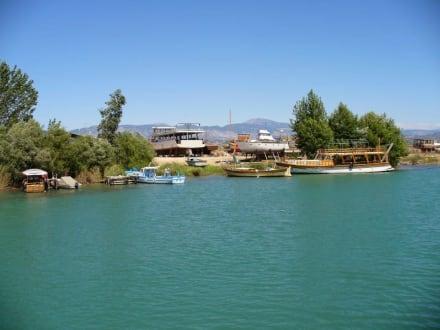 Werft - Flussfahrt Manavgat