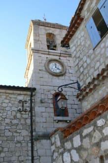 Kirchenturm - Burg Gourdon