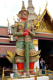 Bangkok - Wat Phra Keo und Königspalast / Grand Palace