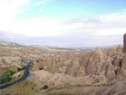 Landschaft in Kappadokien - Kappadokien