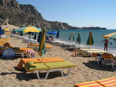 Der schöne Tsambika-Strand - Strand Tsambika