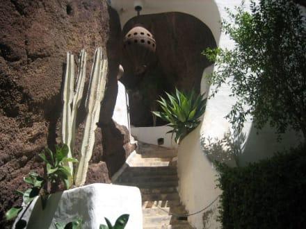 Weg in der Gartenanlage - LagOmar Omar Sharif