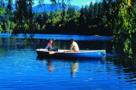 Bootsfahrt am Montiggler See - Montiggler See