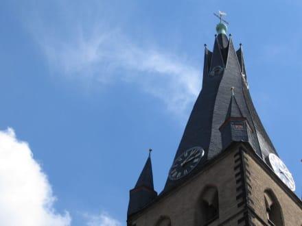 Schiefer Turm von D'dorf! - Lambertuskirche