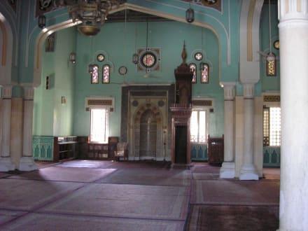 Blick ins Innere - Aldahaar Moschee