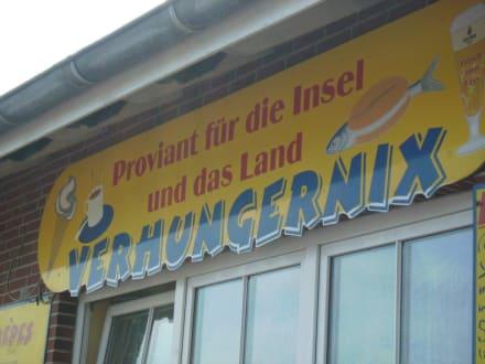 Imbiss Verhungernix am Fährhafen - Strand Baltrum