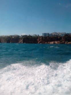 Fahrt mit dem Schnellboot  - Bootstour Kemer