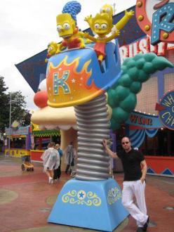 Simpsons - The Ride - Universal Studios Florida