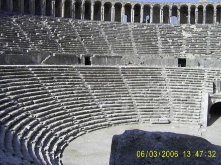 Aspendos - eine antike Stadt - Theater von Aspendos