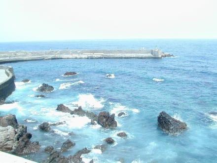 Hafen in Puerto de la Cruz - Fischereihafen Puerto de la Cruz