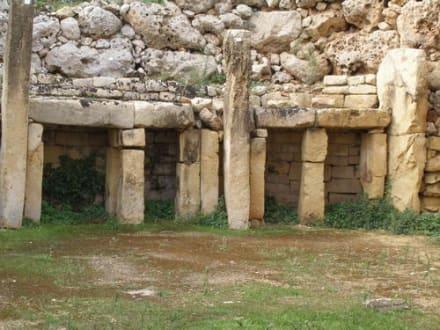 Tempelanlage - Ggantija Tempel