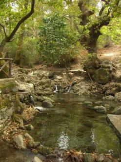 Tal der Sieben Quellen - Epta Piges - Die sieben Quellen