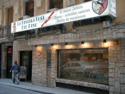 Aussenansicht - Restaurant La Pantera Rosa Del Rayo