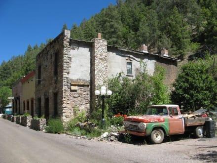 Ghost Town Mogollon, New Mexico - Ghost Town Mogollon
