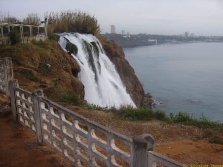 Wasserfall in Lara - Unterer Düden Wasserfall / Karpuzkaldiran Şelalesi