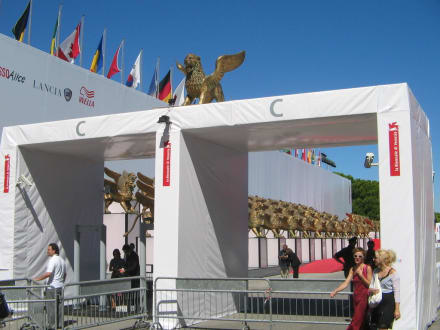 Eingang zur Biennale - Biennale