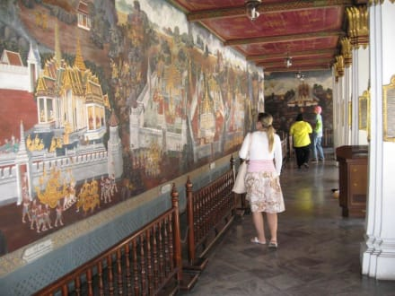 Tempelrundgang - Wat Phra Keo und Königspalast / Grand Palace