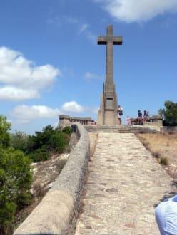 Kreuz auf dem Puig de San Salvador - Puig de San Salvador