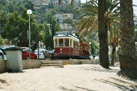 Die Bahn von Puerto de Soller nach Soller - Straßenbahn Sóller - Port de Soller