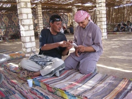 Aufenthalt bei den Beduinen - Quad-Tour - Quad Tour Hurghada