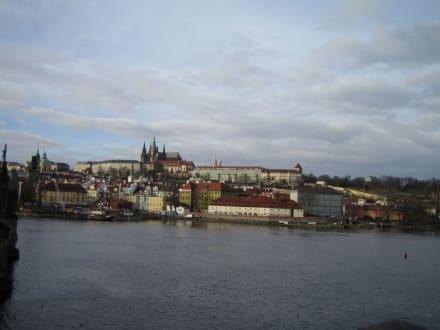 Blick zur Prager Burg - Prager Burg / Hradschin