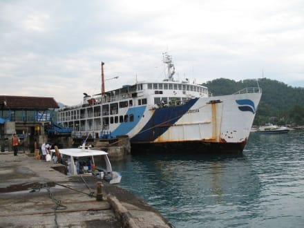 Fähre - Hafen Padang Bai