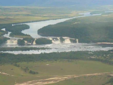 die Wasserfälle von Canaima - Wasserfälle von Canaima - Salto Sapo